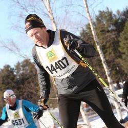 Skiing 90 km - Christer Litzell (14407)