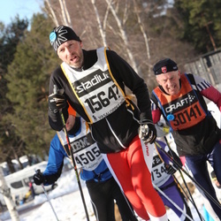 Skiing 90 km - Christer Jonsson (15647)