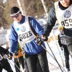 Skiing 90 km - Anders Nordenfors (6023)