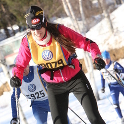 Skiing 90 km - Elisabeth Nilsson (18079)