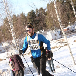 Skiing 90 km - Henrik Backstig (14341)