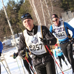 Skiing 90 km - Jan-Ove Höglund (7082), Martin Strand (9857)