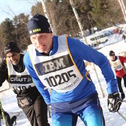 Skiing 90 km - Anders Rådström (10205)