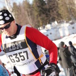 Skiing 90 km - Anders Glämsta (6357)