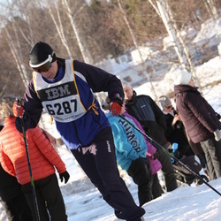 Skiing 90 km - Anders Lövefors (6287)