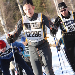 Skiing 90 km - Fredrik Nygård (12286)
