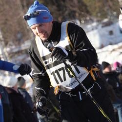 Skiing 90 km - Jarle Knoph (11781)
