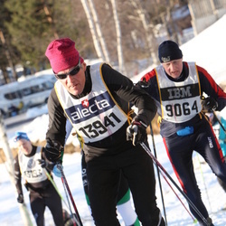 Skiing 90 km - Stig Nilsson (9064), Fredrik Hansson (13694)