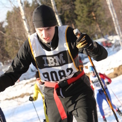 Skiing 90 km - Adam Wahlsten (9082)