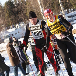 Skiing 90 km - Caj Malmsten (7888), Amelie Kjellstenius (18762)