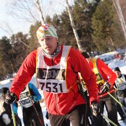 Skiing 90 km - Henrik Arkåsen (7531)