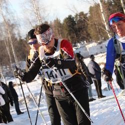 Skiing 90 km - Emil Gyllensvaan (14711)