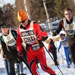 Skiing 90 km - Bordas Gilles (12831), Morgan Lindström (14003)