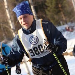 Skiing 90 km - Christoffer Hampf (9800)