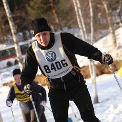Skiing 90 km - Erik Tengroth (8406)