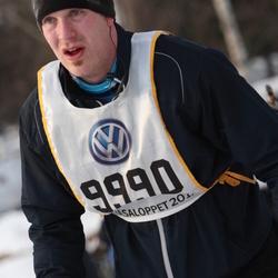 Skiing 90 km - Christian Backolars (9990)