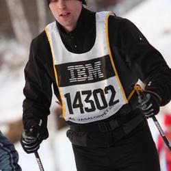 Skiing 90 km - Erik Sjödahl (14302)