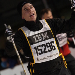 Skiing 90 km - Henrik Andersson (15296)
