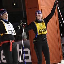 Skiing 90 km - David Östberg (15060), Elin Östberg (18488)