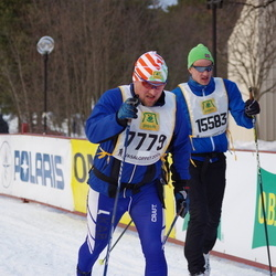 Skiing 90 km - Christer Martinsson (7779), Bendik Falch-Koslung (15583)