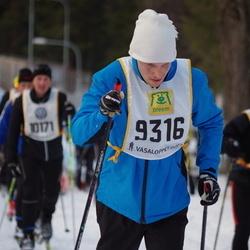Skiing 90 km - Emil Jansson (9316)