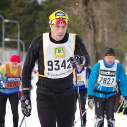 Skiing 90 km - Henrik Siösteen (9342)