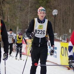 Skiing 90 km - Henrik Bjurström (9226)