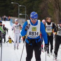 Skiing 90 km - Donald Stålhandske (8814)