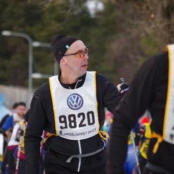 Skiing 90 km - Henrik Lönn (9820)