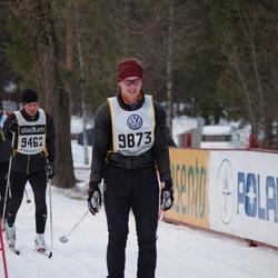 Skiing 90 km - Henrik Andersson (9462), Jakob Nordström (9873)