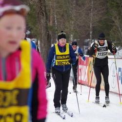 Skiing 90 km - David Sollevi (12358)