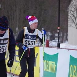 Skiing 90 km - Henrik Wissting (9651)