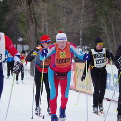 Skiing 90 km - Tomas Kanter (12282), Börje Karlsson (30003)