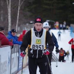 Skiing 90 km - Henrik Poulsen (8951)