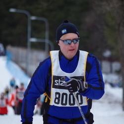 Skiing 90 km - Anders Jalkeus (8000)