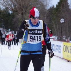 Skiing 90 km - Anders Hellsten (9419)
