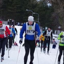 Skiing 90 km - Lars-Åke Lindholm (8160), Fredrik Smedberg (8875)