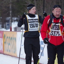 Skiing 90 km - Emil Andersson (13610)