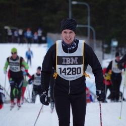 Skiing 90 km - Daniel Eriksson (14280)