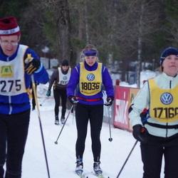 Skiing 90 km - Alexandra Eriksson (18036)