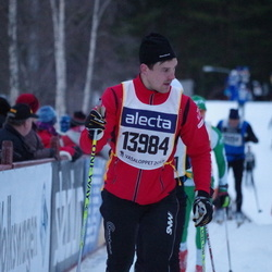 Skiing 90 km - Daniel Bergqvist (13984)