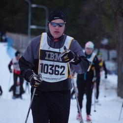 Skiing 90 km - Christer Beskow (10362)