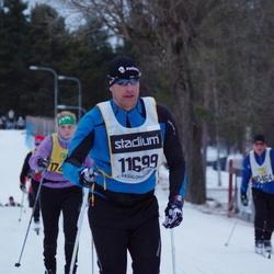 Skiing 90 km - Henrik Rams (11699)