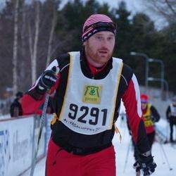 Skiing 90 km - Henrik Nilsson (9291)