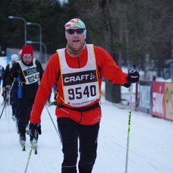 Skiing 90 km - Henrik Svensson (9540)