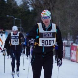 Skiing 90 km - Christian Arthursson (9001)
