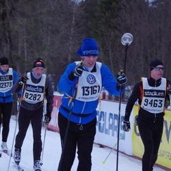 Skiing 90 km - Anders Niklasson (8282), Daniel Ericsson (9463), Michael Aaröe (13161)