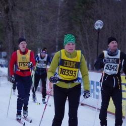 Skiing 90 km - Christine Kvennefeldt (18393)
