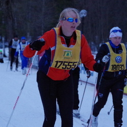 Skiing 90 km - Caisa Sindt (17555)