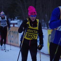 Skiing 90 km - Charlotta Warnhammar Larqvist (16657)
